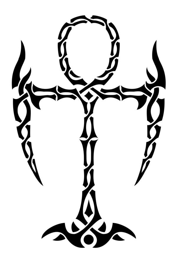 1b2ead350905d Tribal Ankh Tattoo by Lunar-Alienism.deviantart.com on @DeviantArt ...