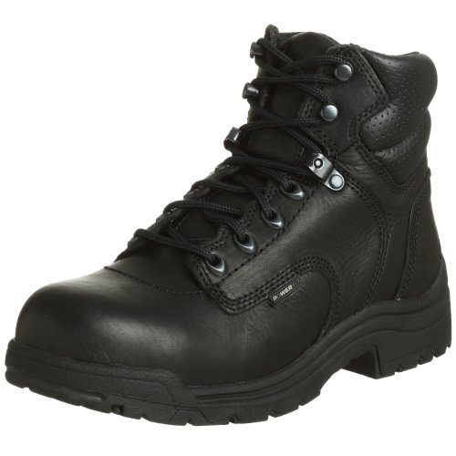 Timberland PRO Women s 72399 Titan Safety-Toe Boot Leather Rubber sole  Shaft measures approximately from arch Heel measures approximately 1  Platform ... 78bded3b1