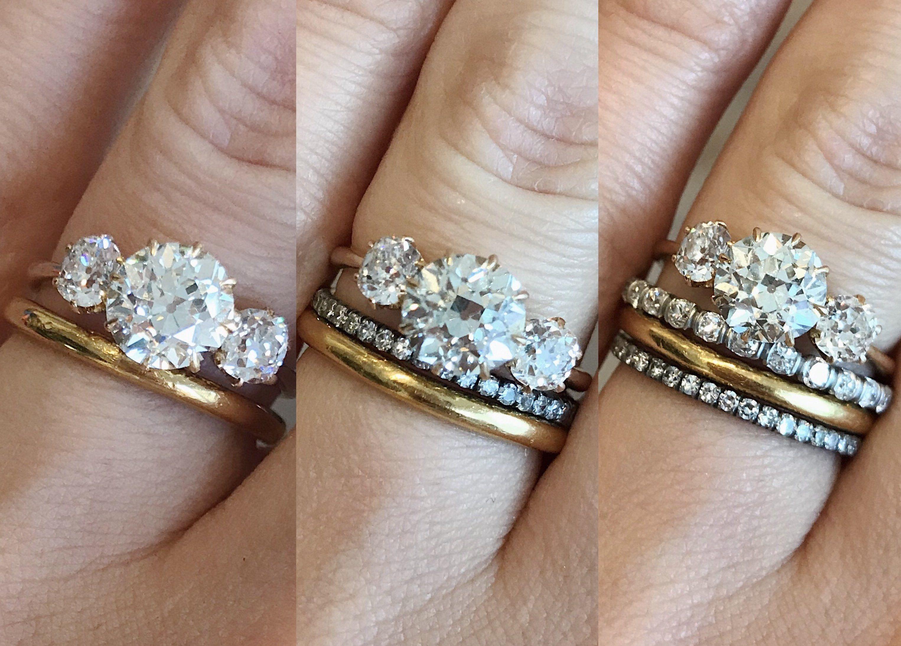 47++ Vintage triple wedding ring mirror ideas
