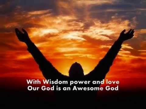 Awesome God By Michael W Smith Lyrics Chorus Youtube Michael