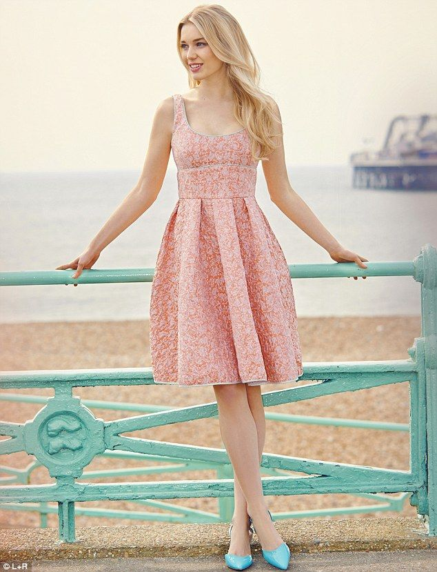 bdc3f75b80c7 Peachy pastels  How to wear the pretty shade this spring