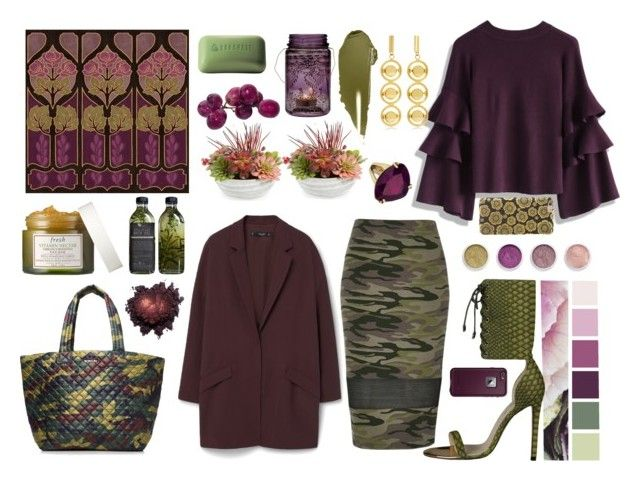 """""""Modern style inspiration"""" by annamedvedeva ❤ liked on Polyvore featuring NARS Cosmetics, Terre Mère, Chicwish, M Z Wallace, Gold Eagle, Borghese, Cultural Intrigue, River Island, MANGO and LifeProof"""