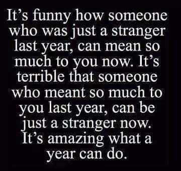 Yes, amazing...