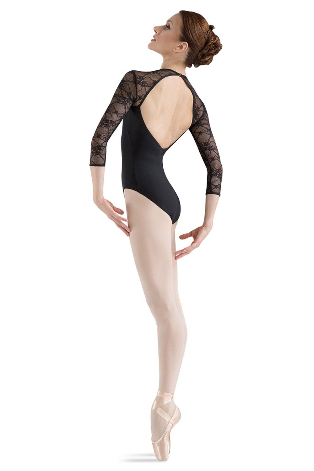 983442802f0a L6016- Lace Bodice Open Back Long Sleeve Leotard - Women's Dancewear &  Accessories - Bloch® US Store