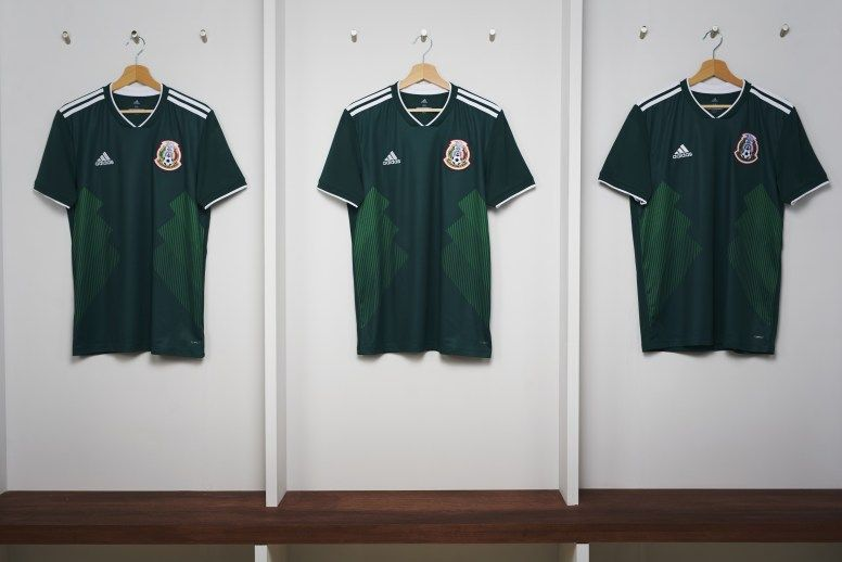 3d6127a1706 adidas Soccer Reveals 2018 FIFA World Cup National Team Home Kits ...