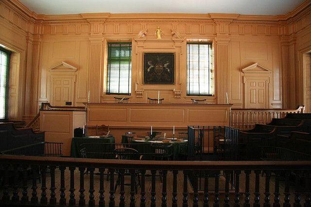 Old Supreme Court Chamber Liberty Hall Philadelphia Pa