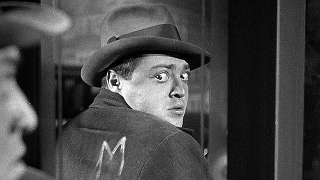 M by Fritz Lang, starring Peter Lorre