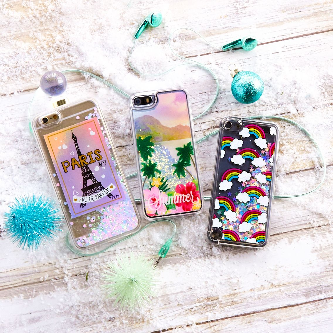 Currently obsessed with these liquid filled phone cases!