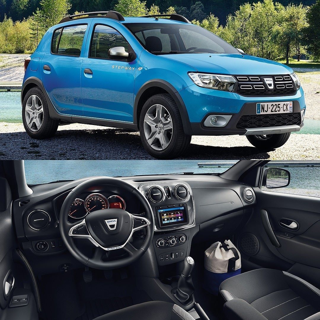 dacia sandero stepway 2017 marca romena lan ou no sal o de paris mondialauto a linha. Black Bedroom Furniture Sets. Home Design Ideas