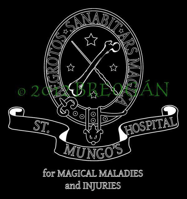 St Mungo S Hospital Crest Design Harry Potter Printables Free Harry Potter Printables Hospital