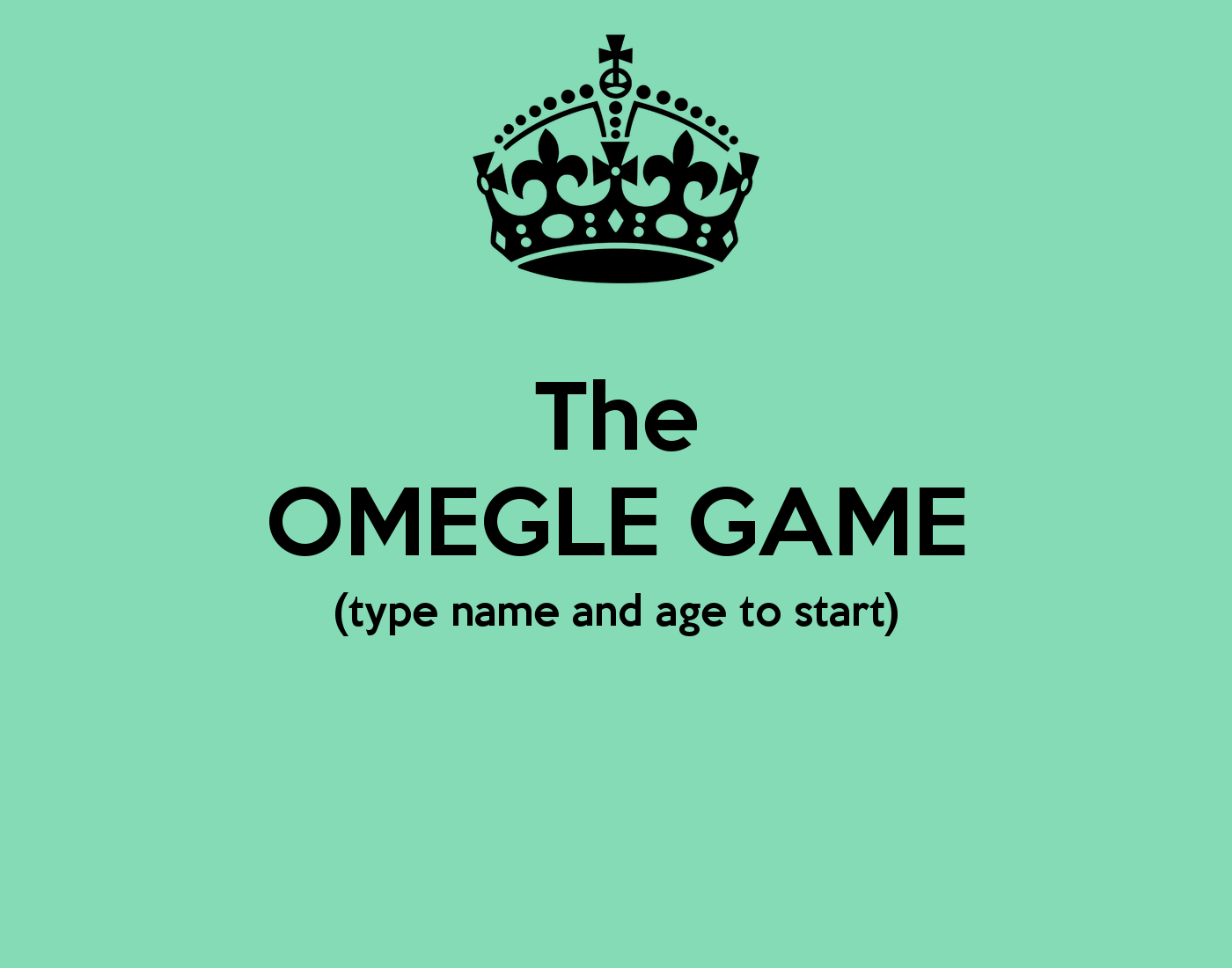 Omegle points game free porn video unlimited