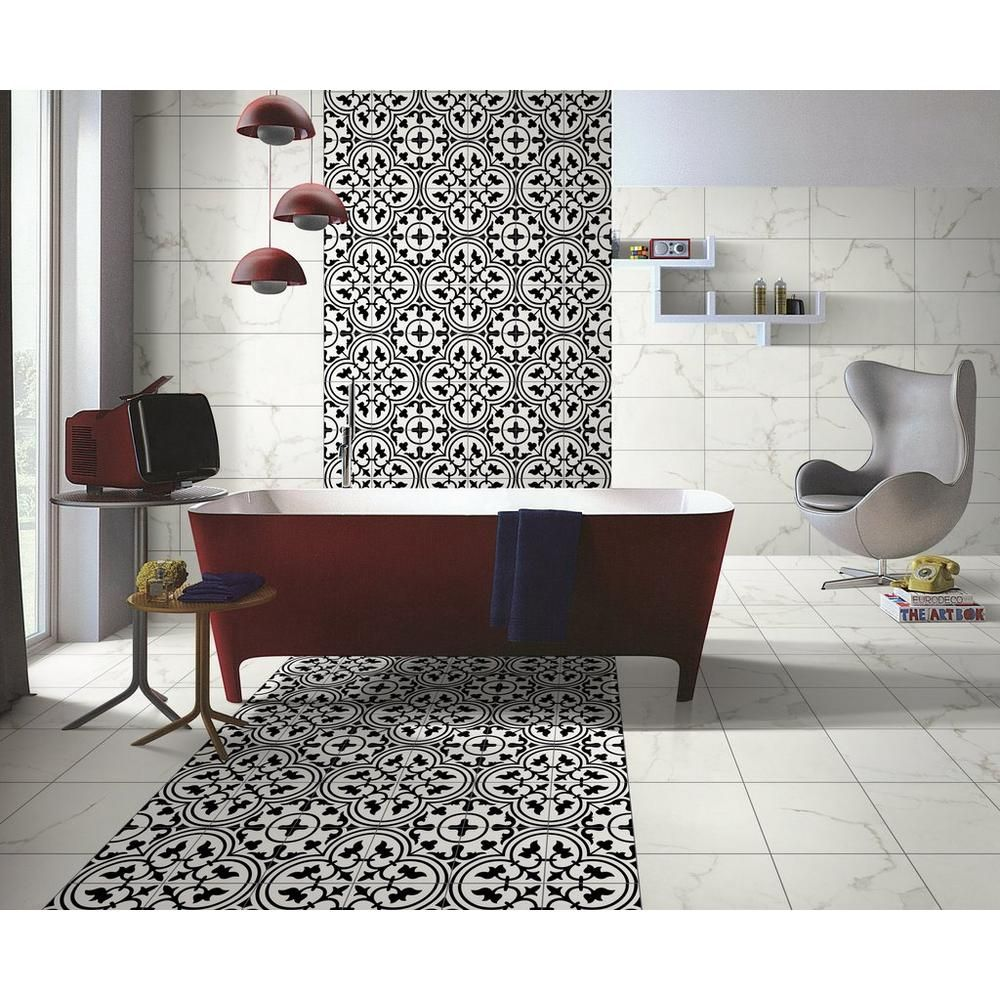 Bayona Deco Ceramic Tile - 8 X 8 - 100492958
