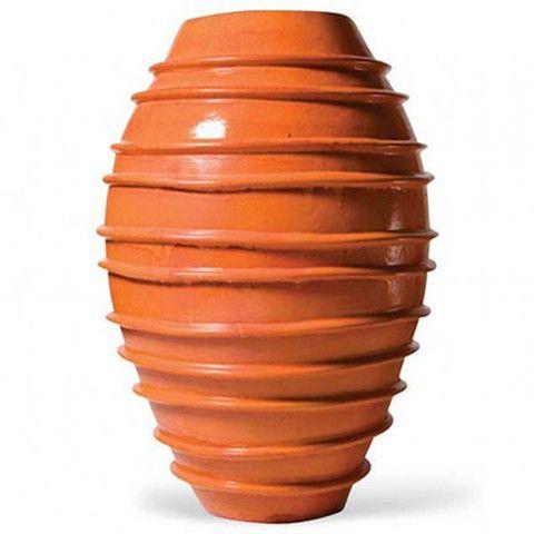 Planters Fountains Extra Large Ridged Round Ceramic 400 x 300