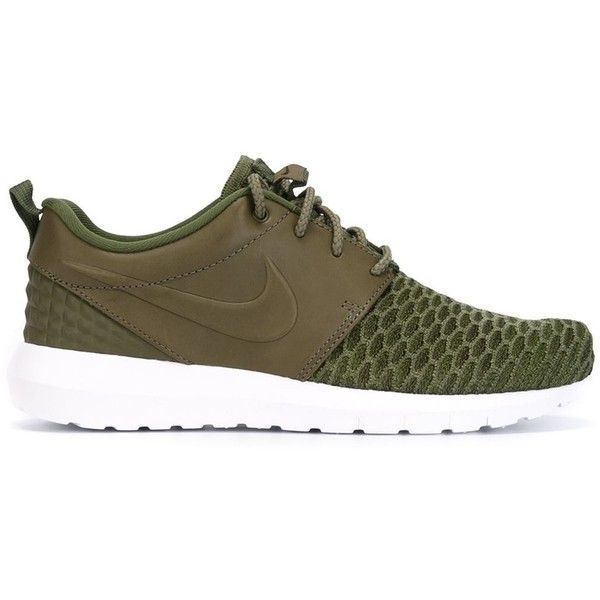 Nike Roshe NM Flyknit Premium Sneakers ($137) ❤ liked on