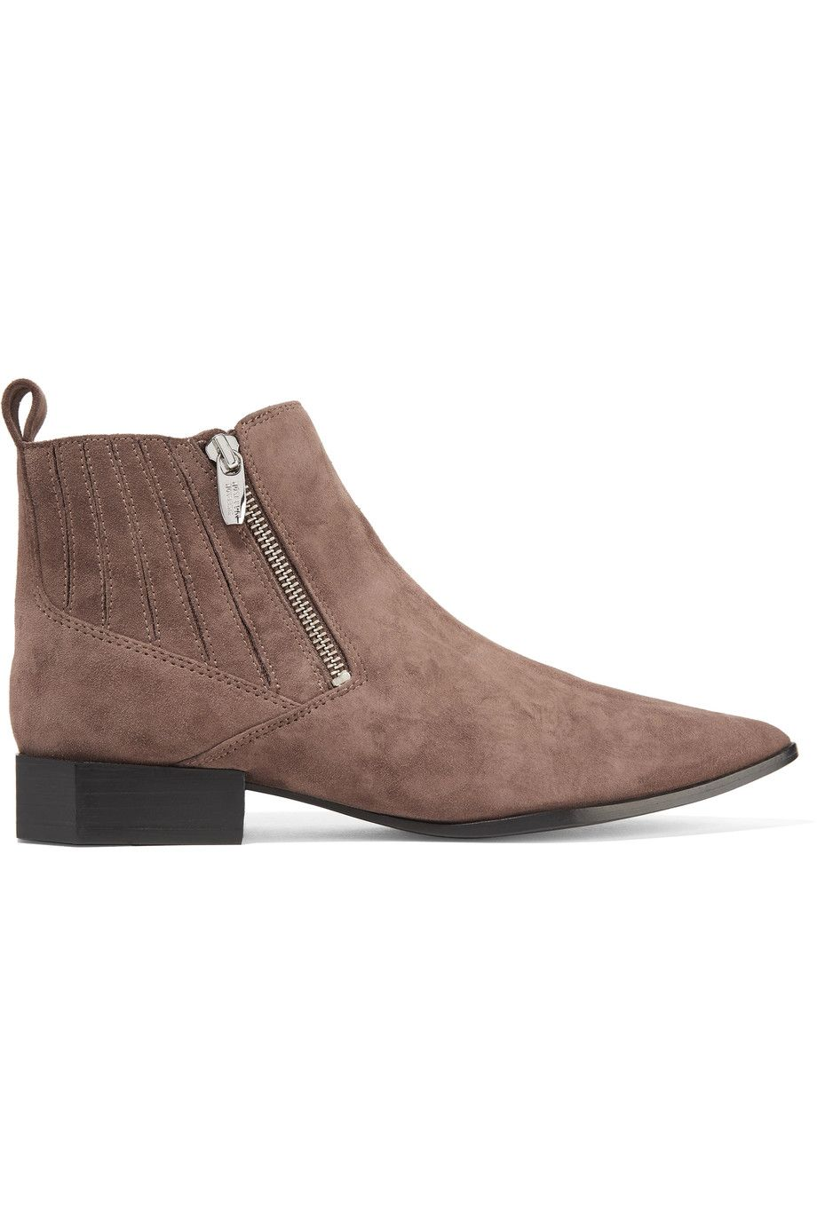SIGERSON MORRISON | Bambie suede ankle boots #Shoes #Boots #Ankle #SIGERSON  MORRISON