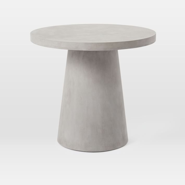 Pedestal Outdoor Bistro Table In 2020 With Images Bistro Table