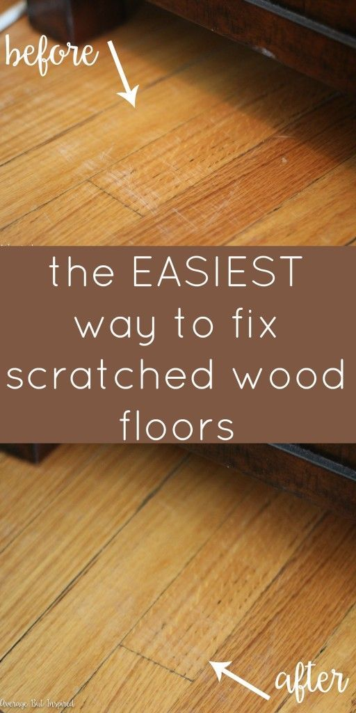 How To Fix Scratched Hardwood Floors In No Time Hometalk Diy