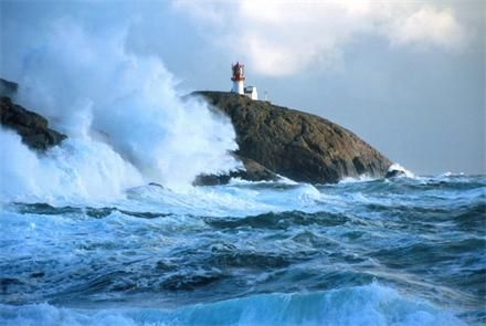 Lindesnes, on the edge of south Norway