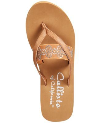43ea0dfda20a1 Callisto Lush Embellished Wedge Sandals - White 6M