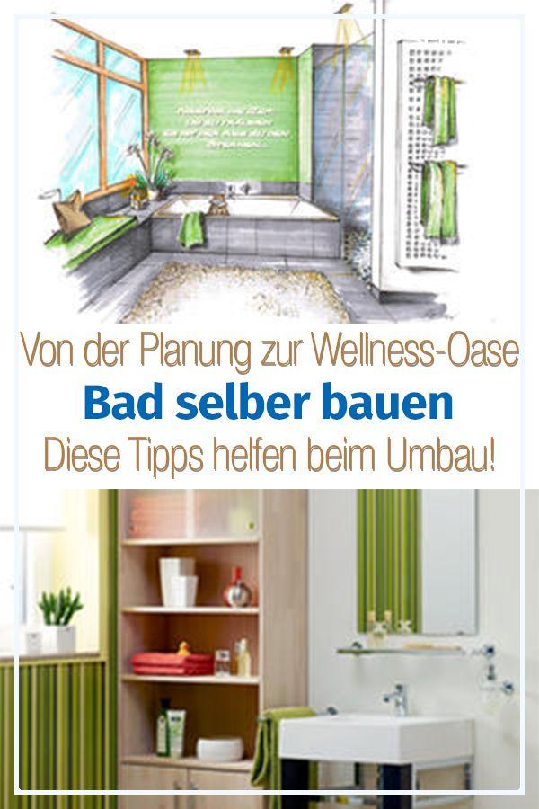 Bad selber bauen   haus   Badezimmer planen, Badideen ...