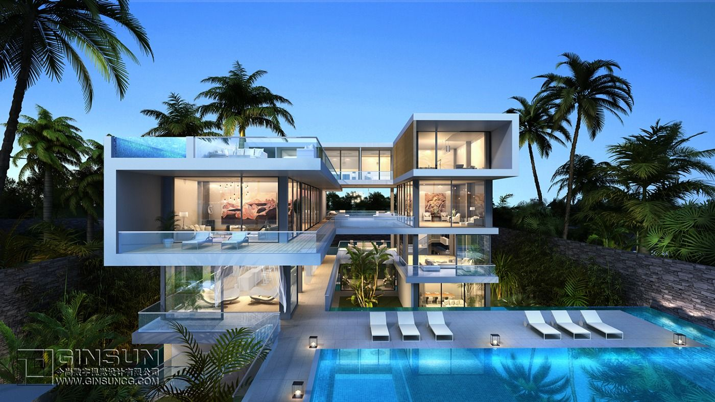 Part Of A Villa Hotel Project This U Shaped Retreat
