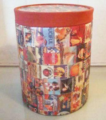 Barrica de textura para parede reciclada By Atelie Samara Ferreira