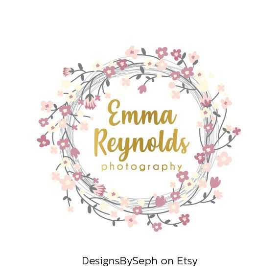 Premade Logo Design Photography Watermark