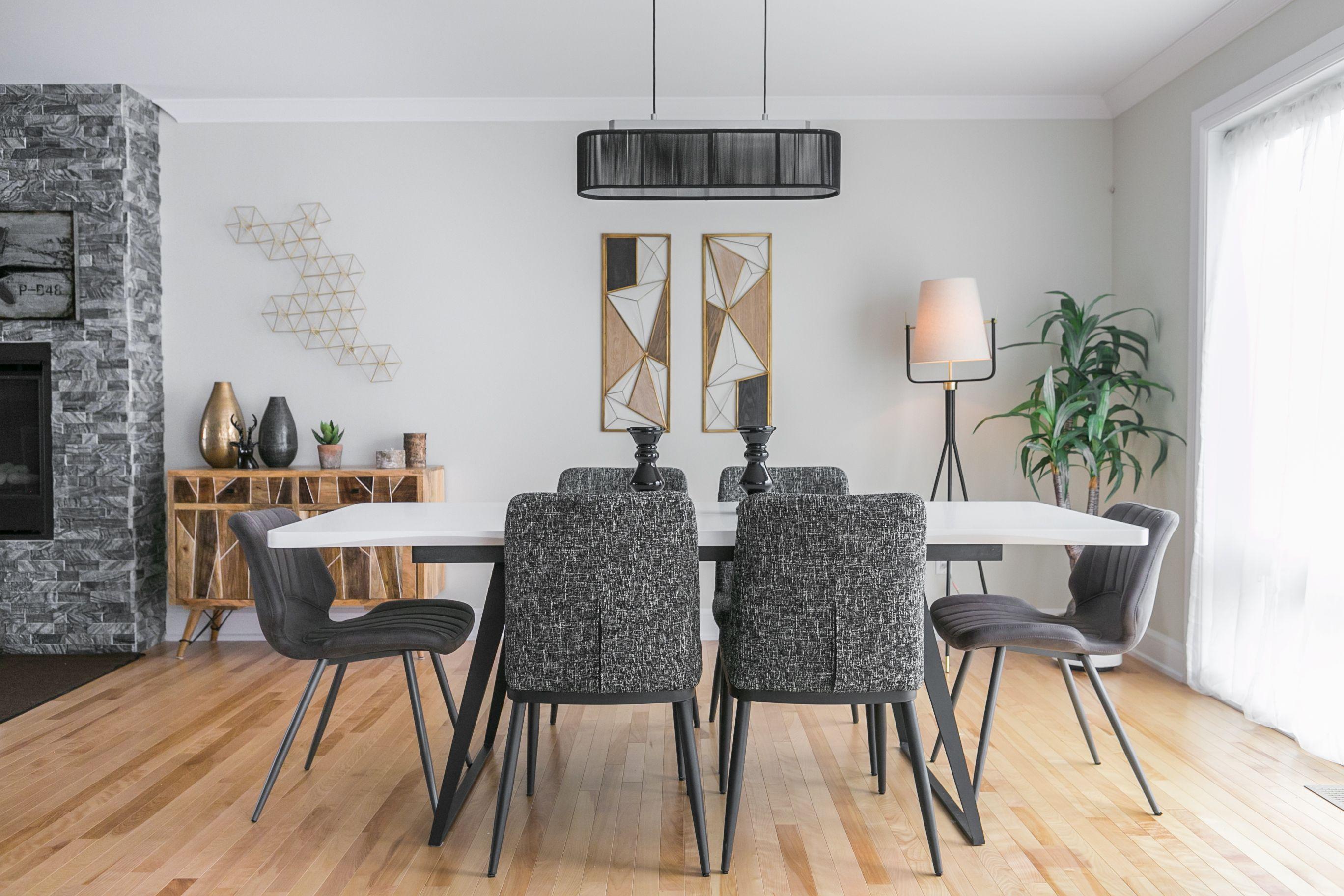 Rehausser Une Table De Salle A Manger pour une salle à manger contemporaine, optez pour un style