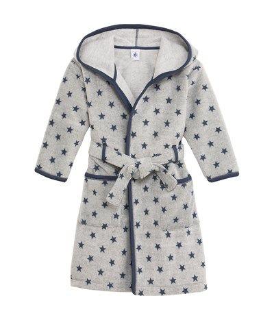 Robe De Chambre Garcon En Polaire Imprime Etoiles Ropa Para Ninas Moda Para Ninas Pijamas Para Ninas