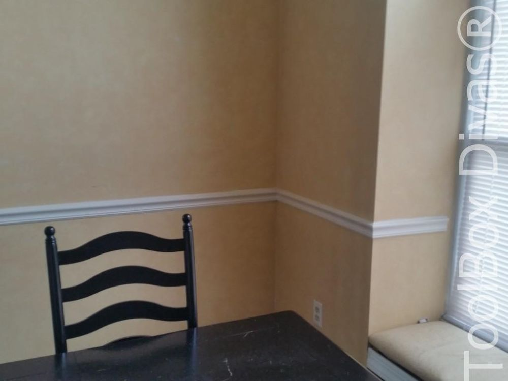 Install Picture Frame Moulding - Budget Friendly Wainscoting