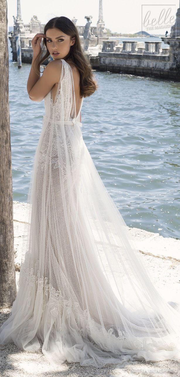 Netta benshabu wedding dress collection une fleur sauvage