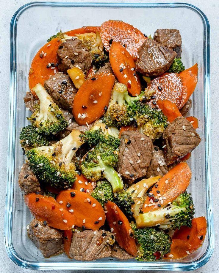 Super Easy Beef Stir Fry für saubere Essenszubereitung - Samantha Fashion Life #gourmetmeals
