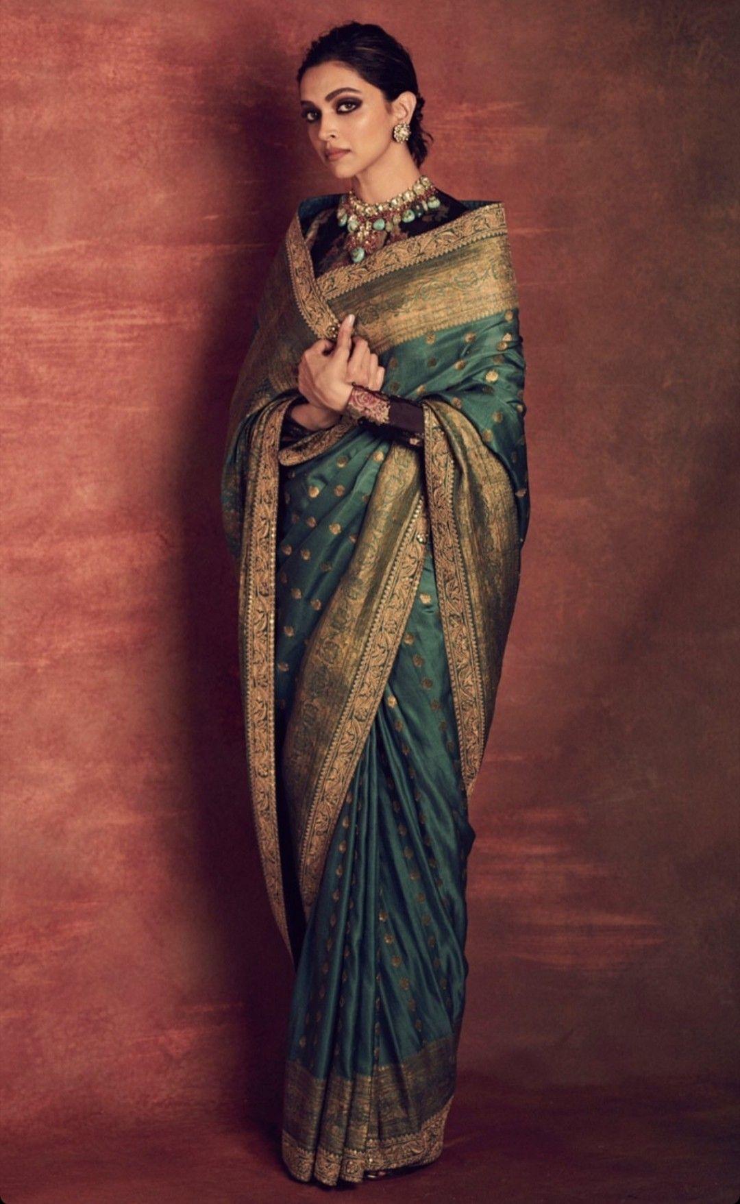 Pin by Shreya on Deepika padukone   Sabyasachi sarees ...