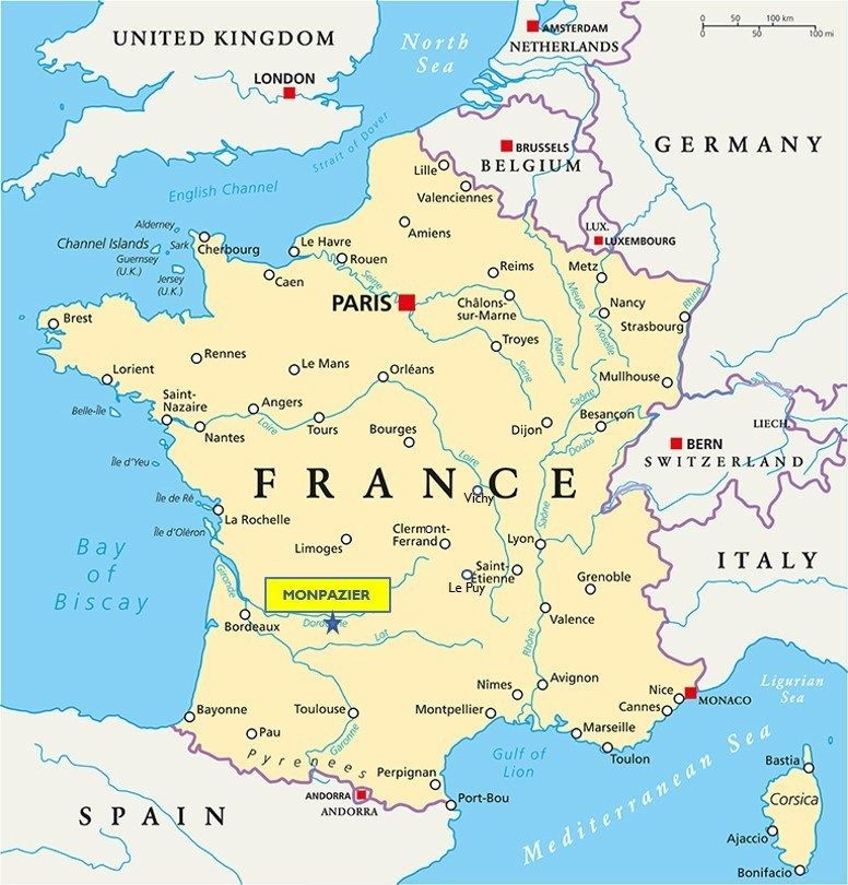 Monpazier Is Officially One Of France S Most Beautiful Villages Deep Heart Of France France Map Nice France Map Nice France