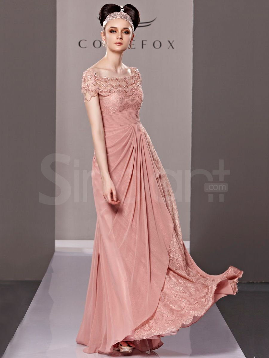 Chiffon but not too long evening gowns pinterest party wedding