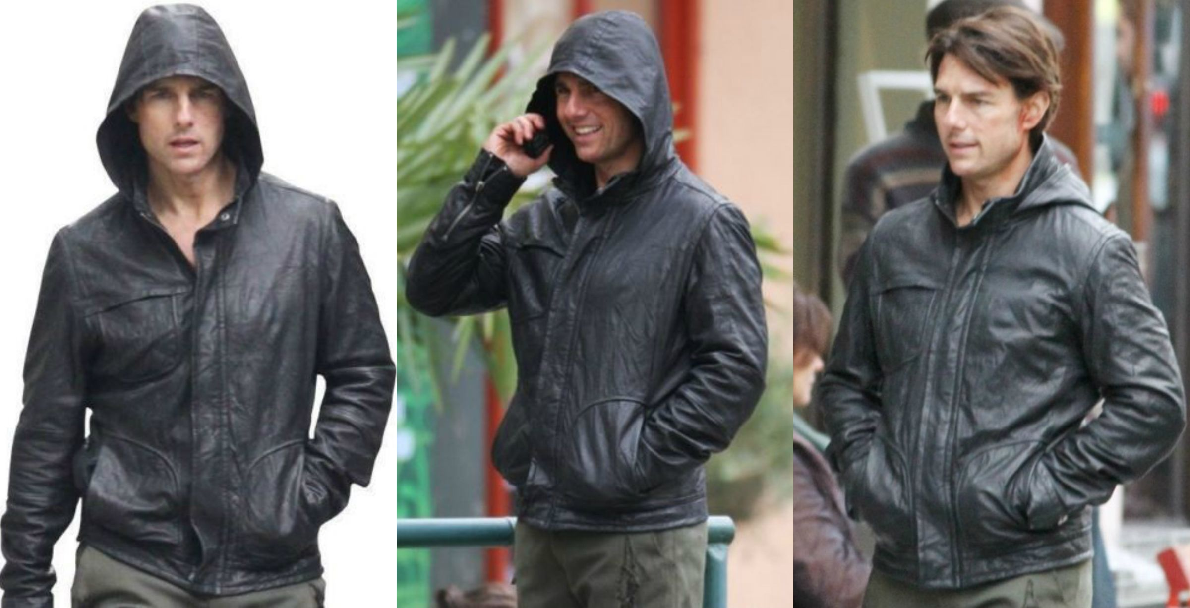 Tom Cruise Ghost Protocol Jacket Real Leather Jacket Leather Jacket Mens Outfits [ 1226 x 2400 Pixel ]