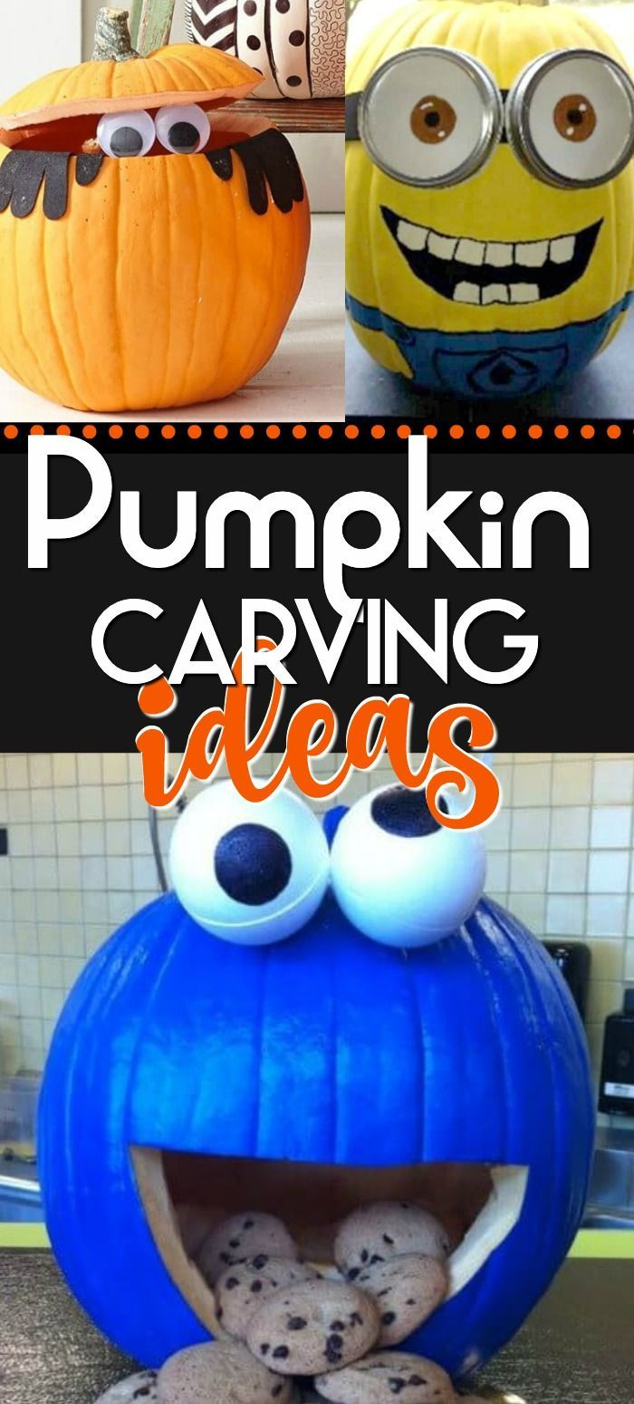 Totally Cute & Adorable & Creative Pumpkin Carving ideas