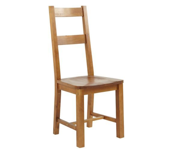 buy collection arizona pair of solid pine wood chairs at argos co uk