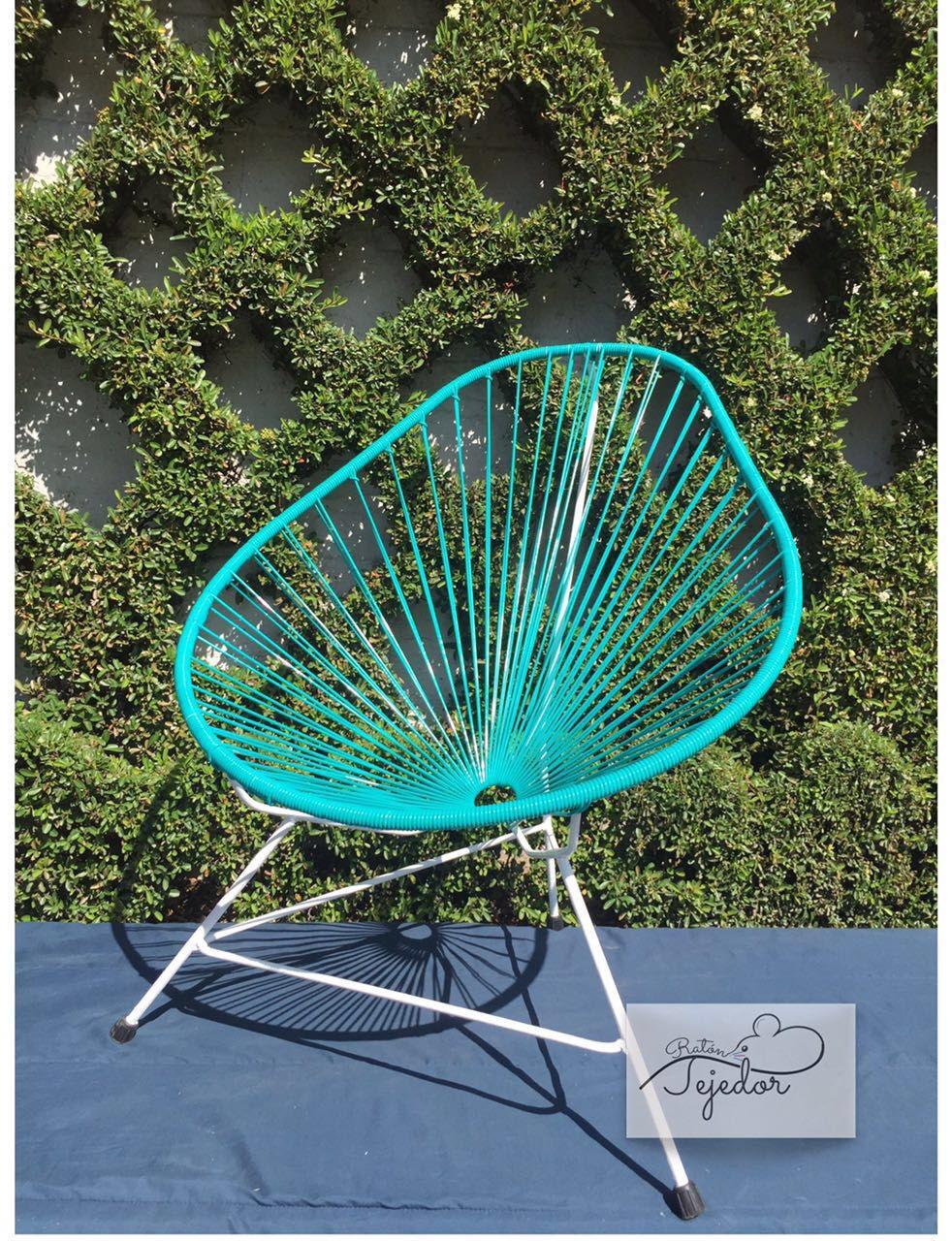 Decoración con sillas Acapulco #sillasacapulco #colores #sillas #terraza #jardin