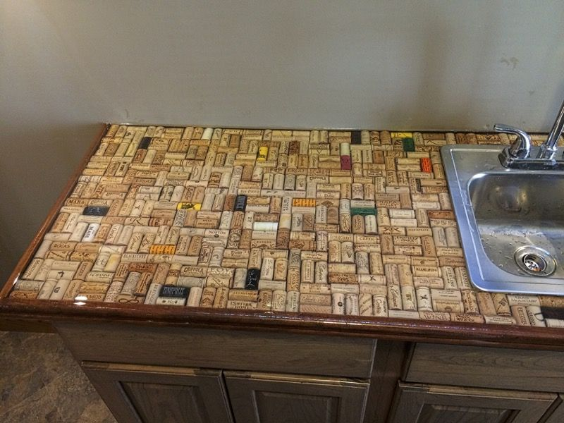 Epoxy Cork Counter Top Resin Countertops Clear Epoxy Resin