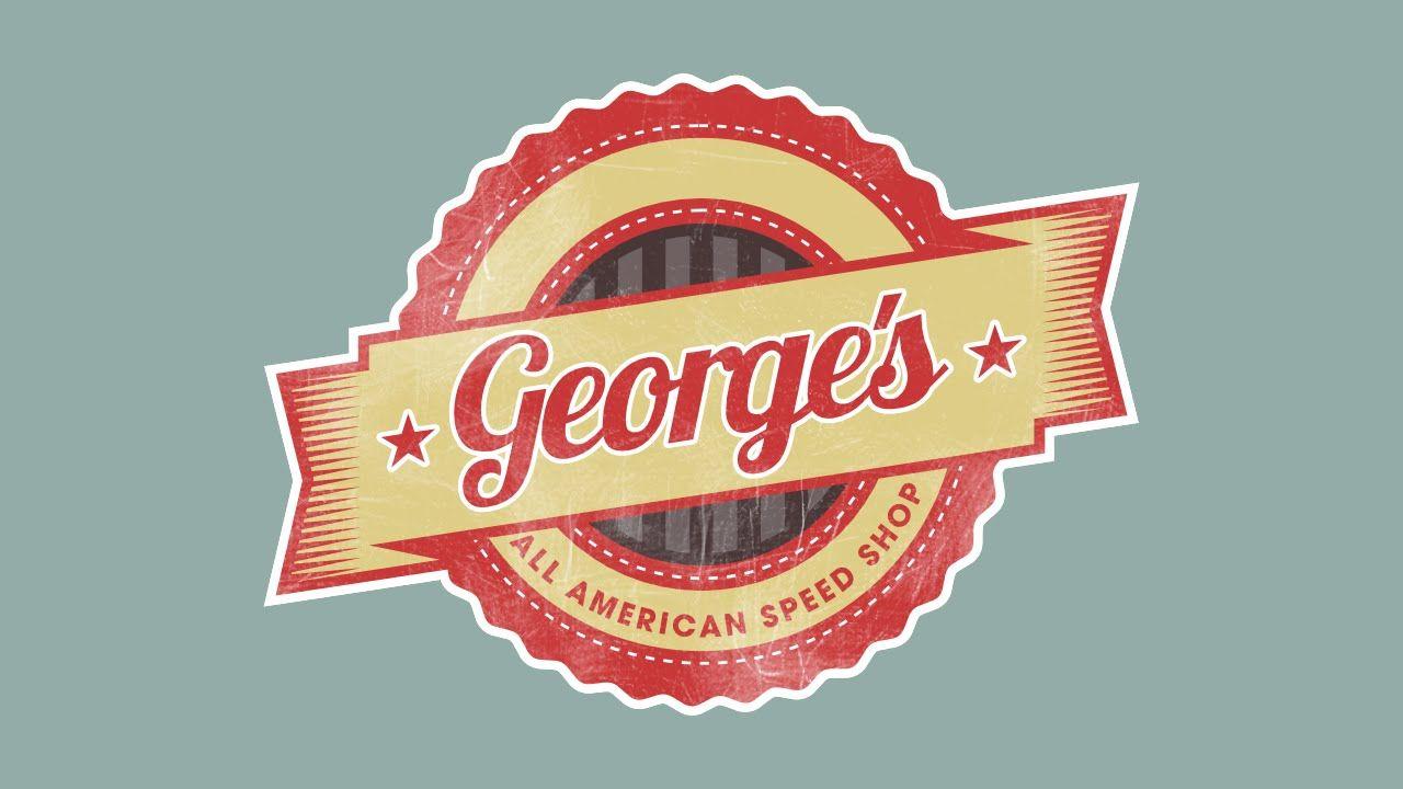 Vintage Logo Design Time Lapse Inkscape With Images Vintage Logo Design Logos Design Vintage Logo