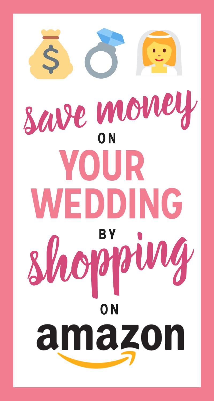 Amazon Prime Wedding Finds Save Money on Your Wedding