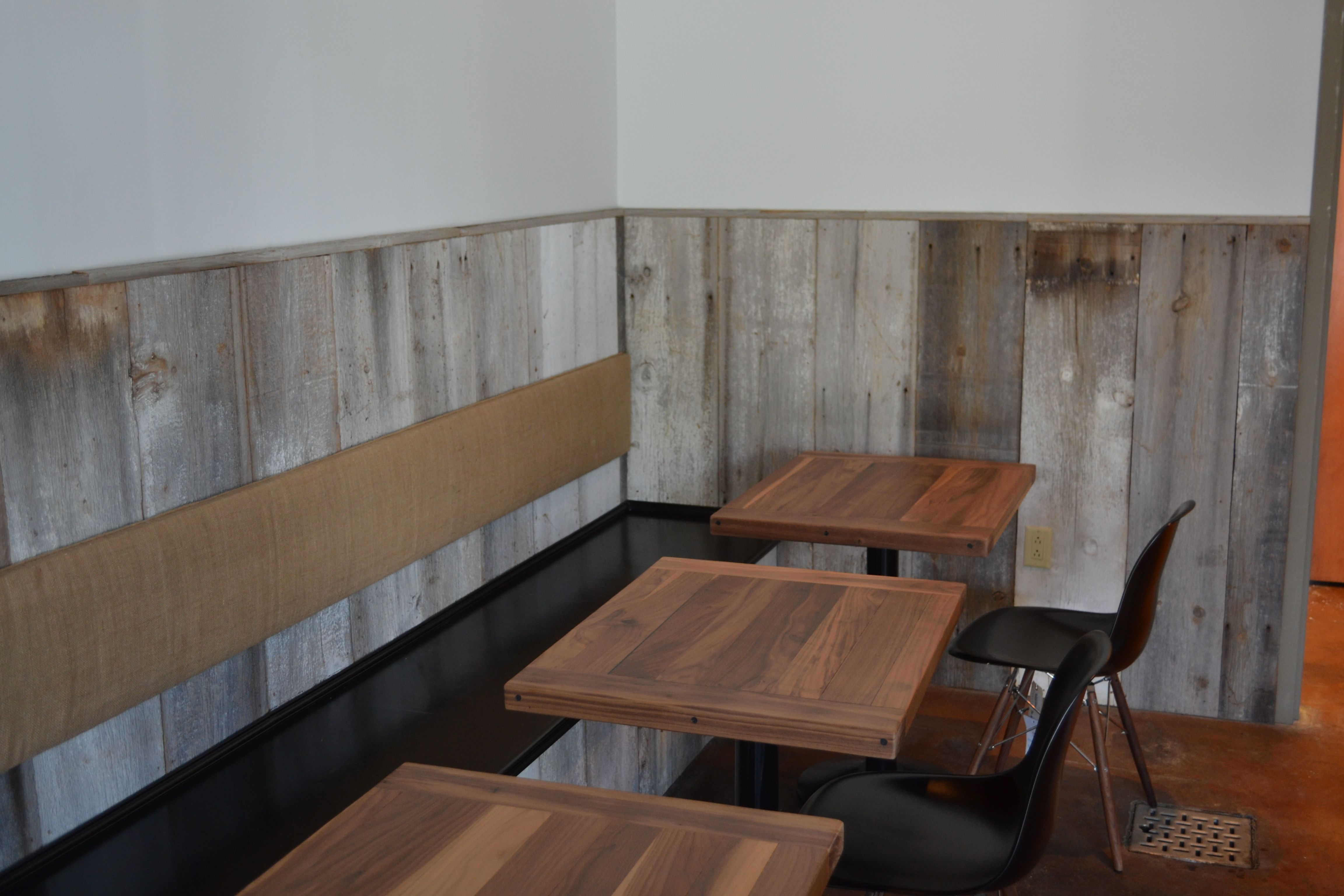 Good Rustic Chair Rail Ideas Part - 4: Barn Board Chair Rail At The Collective Coffee Company In Mt. Pleasant, SC