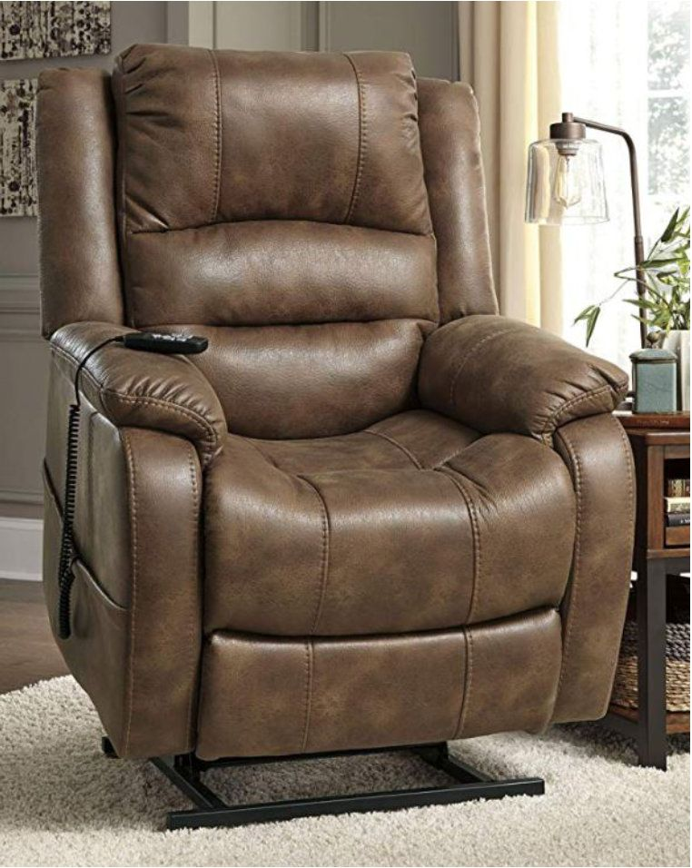 Big, cozy, heavyduty, tilt recliner chair for the big and