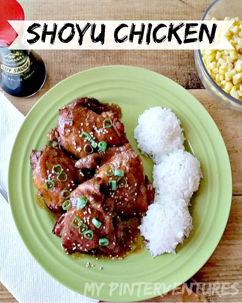 Shoyu Chicken Recipe Hawaiian Food Hawaii Food Recipes