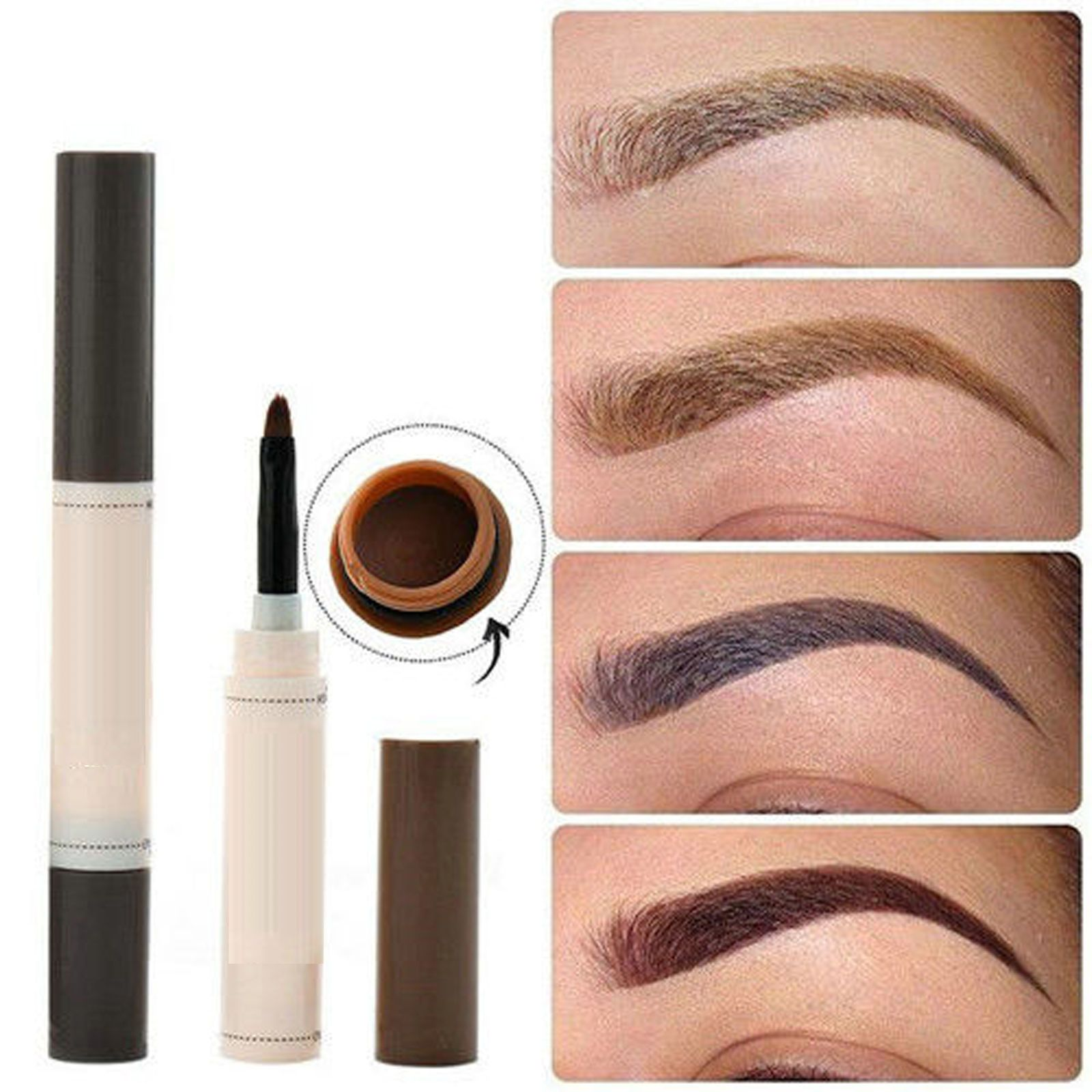 Waterproof Eye Brow Dye Cream Pencil Long Lasting Eyebrow Set Beauty