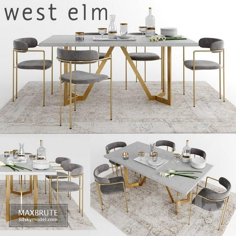 Kitchen Poliform Varenna My Planet 4 Vray Ggx Corona Pbr 3d Model Download Maxbrute Furniture Visualization Dining Table Gold Stone Dining Table Concrete Dining Table