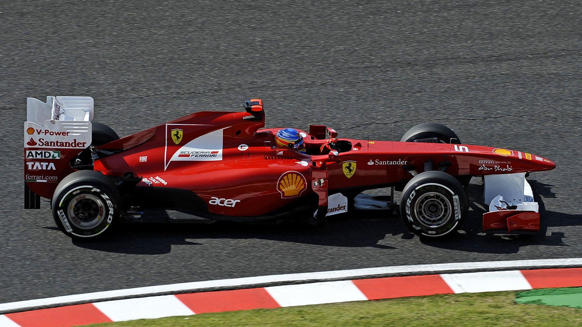 2011 Ferrari 150 Italia Fernando Alonso