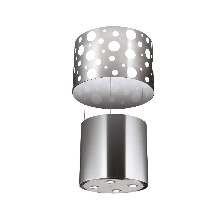 Inseldunstabzug Mit Integrierter Beleuchtung Originelles Design Ghil55ix Glem Gas S P A Abzug Design Beleuchtung