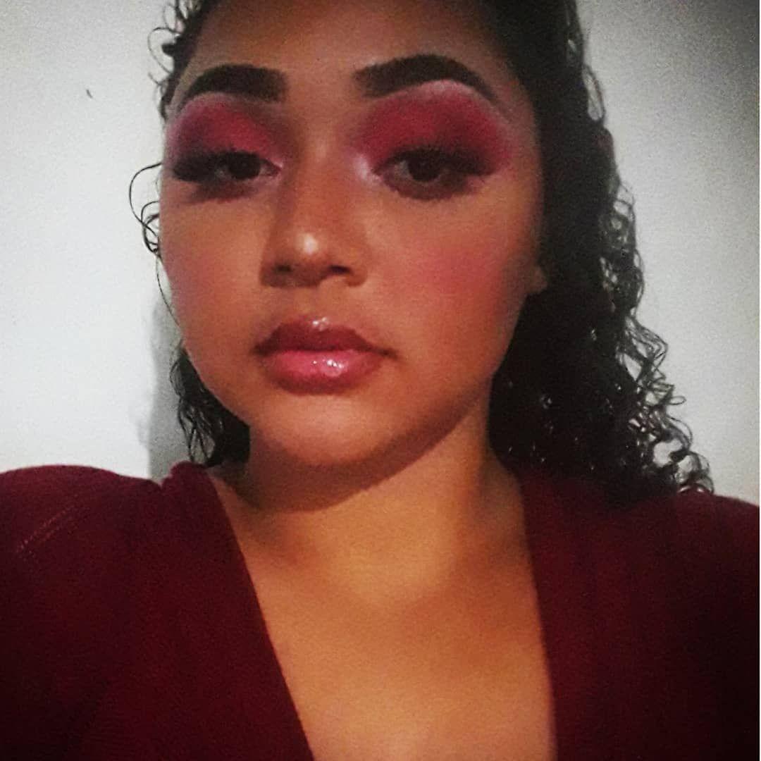 Red Challenge Makeup Love Tiktok Maquiagem Fitness Motivation Instagram Art Dance Insta Makeup Tutorial Make Up Viral
